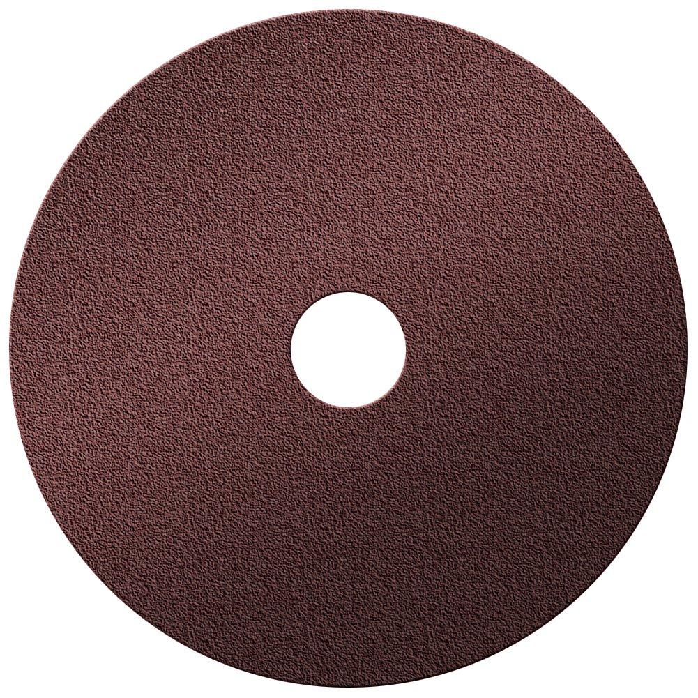 A&H Abrasives 100994, 100-pack,''abrasives, Sanding Discs, Aluminum Oxide, Fiber Backed'', 5x7/8 Aluminum Oxide 24 Grit Resin Fiber Sander Disc