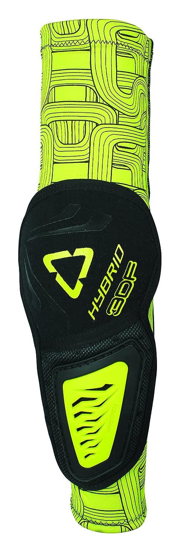 Leatt 3DF Hybrid Elbow Guard (Black/Lime, Small/Medium) 5015400280