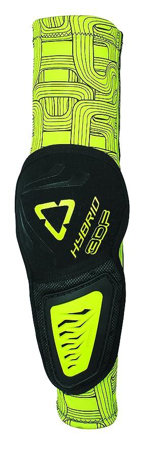 Leatt 3DF Hybrid Elbow Guard 5015400281 Black//Lime, Large//X-Large