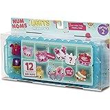 Num Noms – Lights Series 2 – Mega Mystery Pack – Überraschungsbox mit 12 Num Noms Minifiguren (Sortimentsartikel)