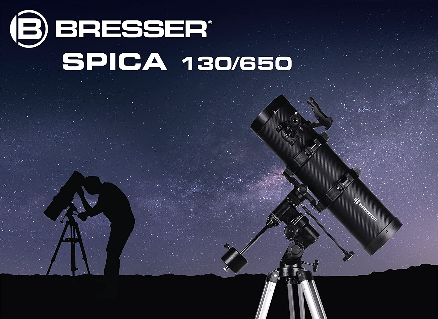 Bresser optik messier mc exos goto spiegel teleskop