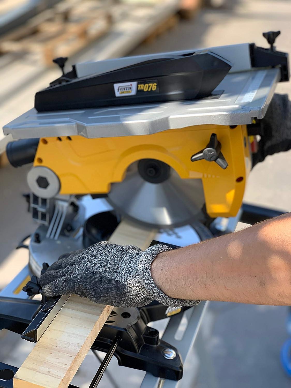 55/x 70/mm Winkel Schnitt verstellbar von 0//° bis 45//° Struktur aus Aluminium Druckguss Gehrungss/äge tr-076 f/ür Holz Arbeitsplatte 382/x 270/mm komplett mit Lineal Schnittleistung 120/x 57/mm