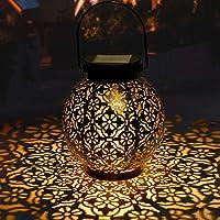 Linterna Solar Exterior GolWof LED Luz Solar Colgando Jardín Farolillo Solare Farol Solar Exterior Jardin Luce Solare…