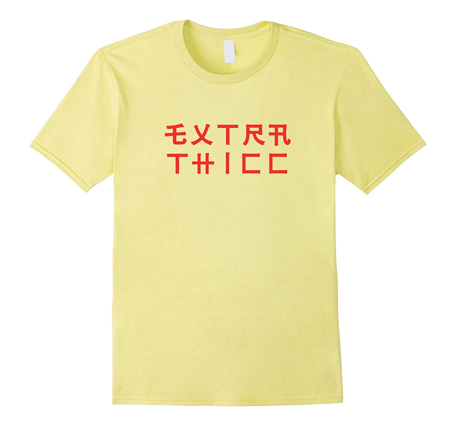 Extra Thicc Japanese Characters Dank Meme T-Shirt-RT ...