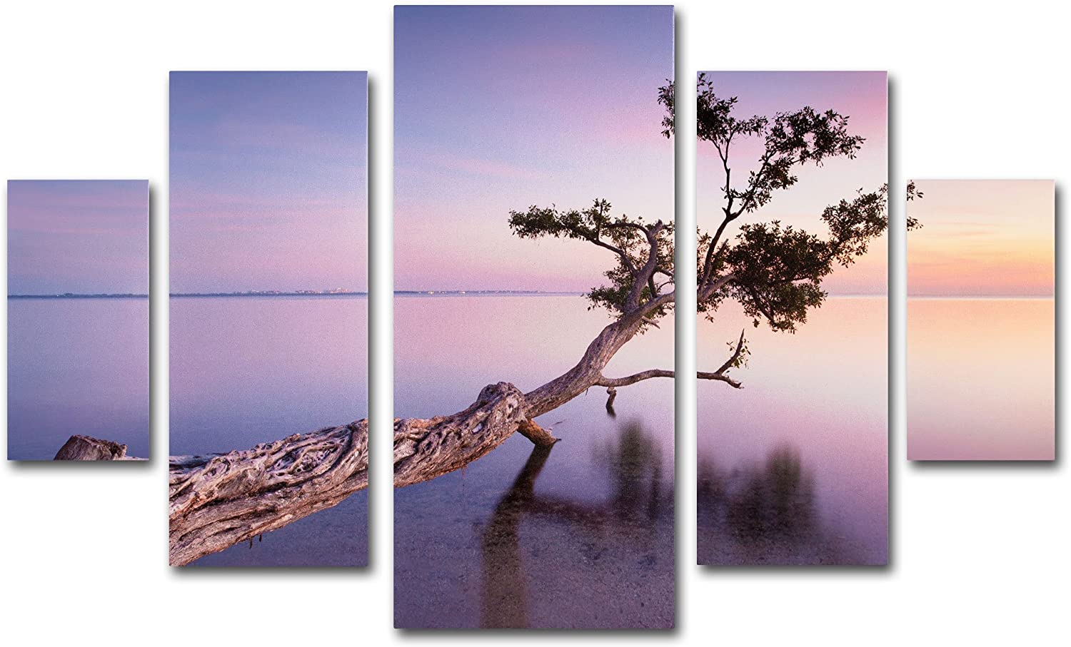 Amazon Com Water Tree Xv Multi Panel Art Set By Moises Levy Posters Prints