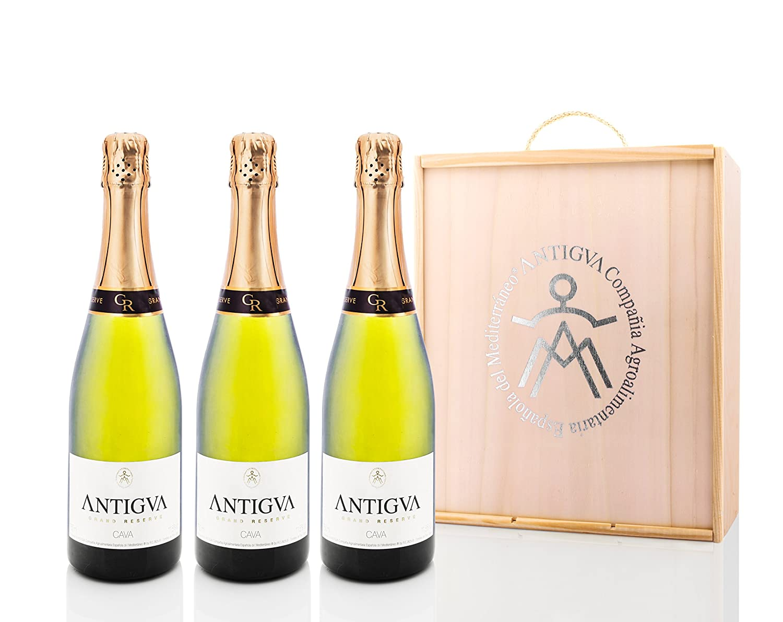 Cava Antigua Grand Reserve (pack de 3 botellas)
