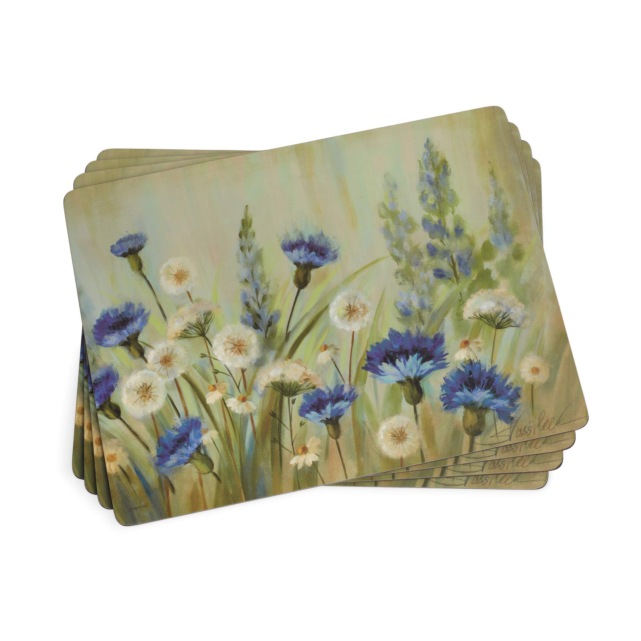 Pimpernel Fleurs des Champs Collection Placemats - Set of 4