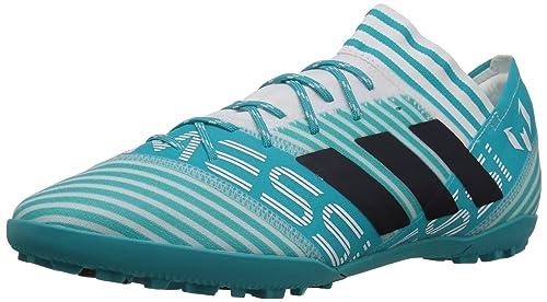 9a05e51a1 Adidas Men s Nemeziz Messi Tango 17.3 TF Soccer Shoe White Legend  Ink Energy Blue