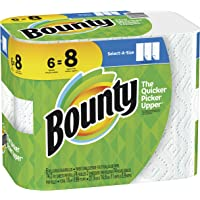 6-Pack Bounty Select-A-Size Big Roll Paper Towel (White)