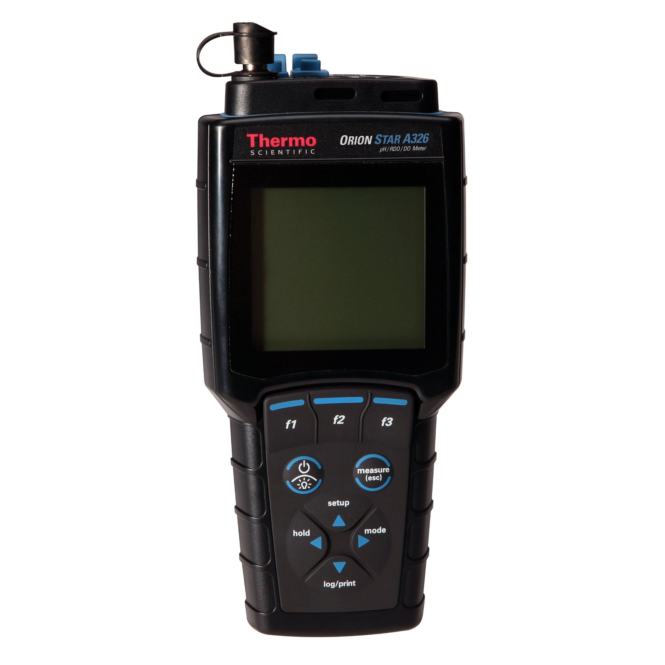 Thermo Scientific Orion Star A326 Portable pH/mv/RDO/DO/Temperature Multiparameter Meter Kit