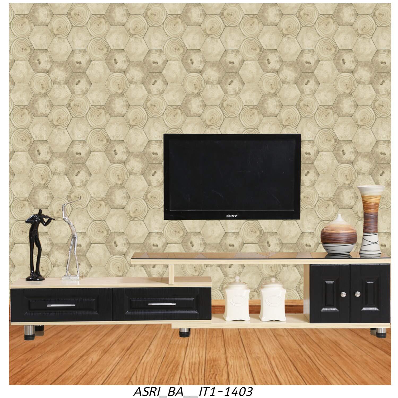 Asri Interiors Network Designer Wall Paper Roll For Living Room Decoration Bedroom Restaurant Tv Background Hall Vinyl Multicolour 57 Sq Feet Amazon In Home Improvement