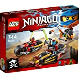 LEGO - Persecución en la Moto Ninja, (70600)