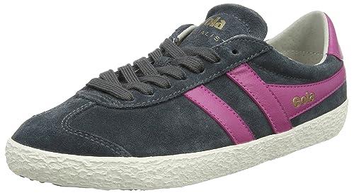 Gola Specialist, Baskets Femme, Noir (Black/Pale Pink), 40 EU