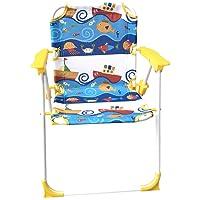 Yummy Cookie Kids Patio Beach Chair Two Available Prints (Blue Aquarium)