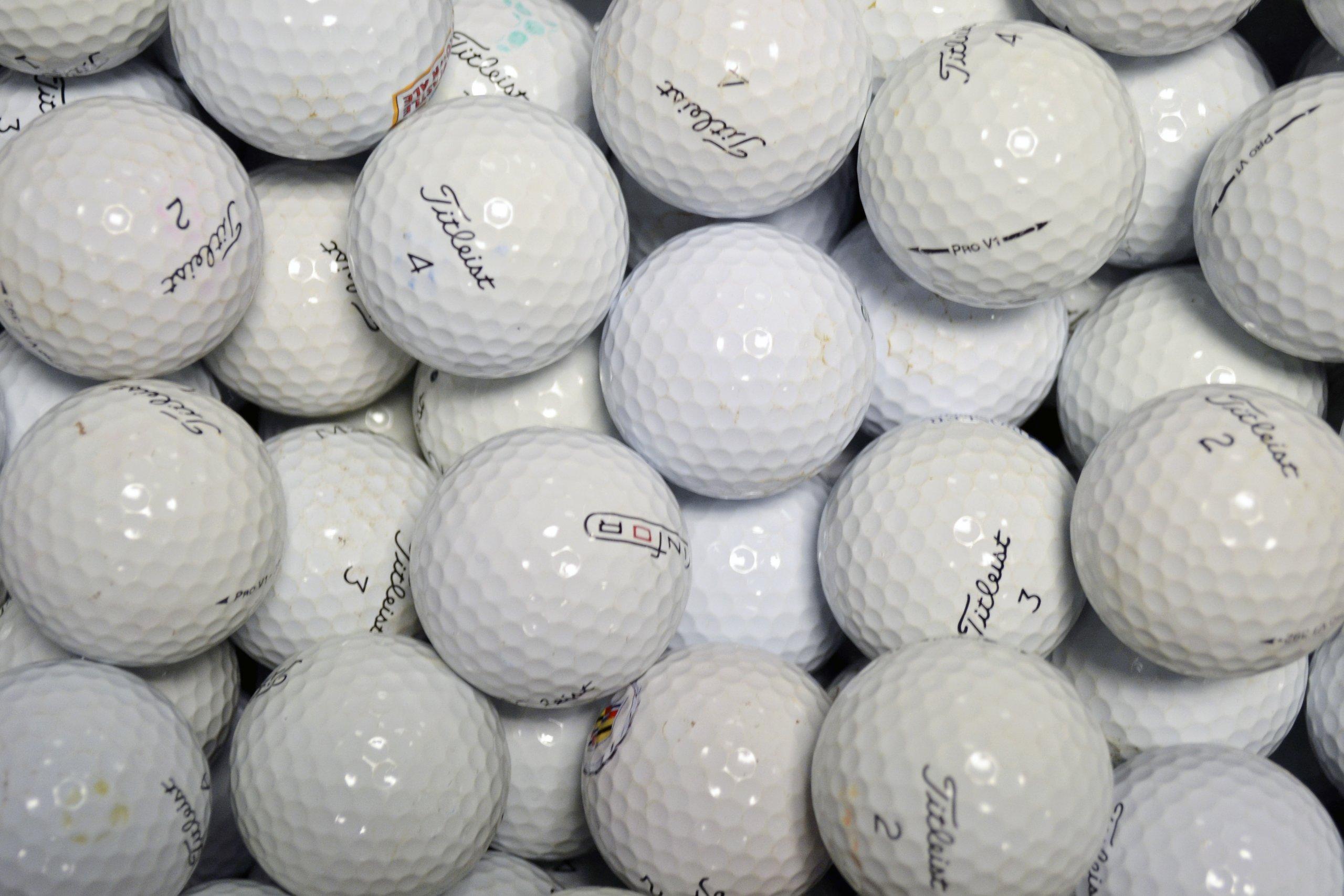 Longridge Titleist Pro V1 Grade A Golf Lake Balls by Longridge