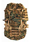 USMC Field Pack, MARPAT Main Pack, Woodland Digital Camouflage, Spare Part, Component of Improved Load Bearing Equipment (ILBE)