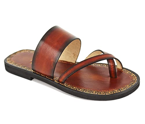 8f6157f13596 Burnished Leather Sandals