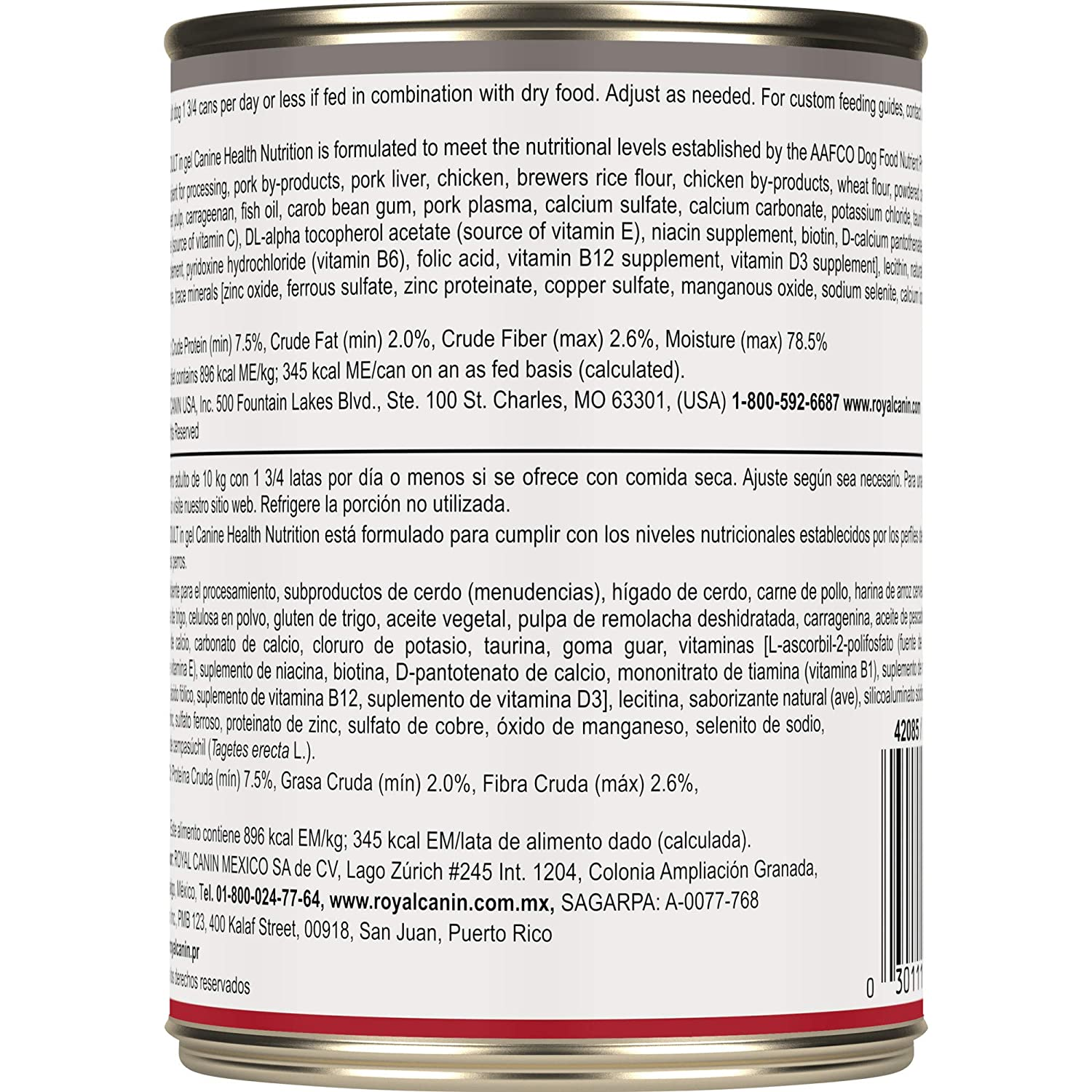 Royal Canin Canine Health Nutrition Mature Adult in Gel Canned Dog Food, 13.5 Ounce Can (Pack of 12): Pet Supplies: Amazon.com