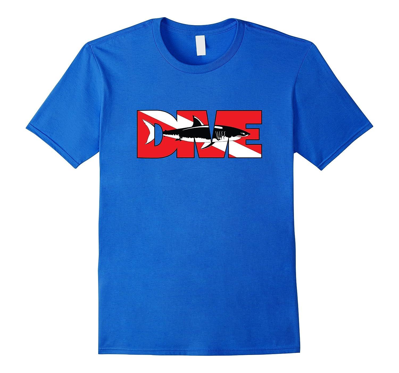 Certified Fish Scuba Dive Great White Shark T-Shirt – Topicatee