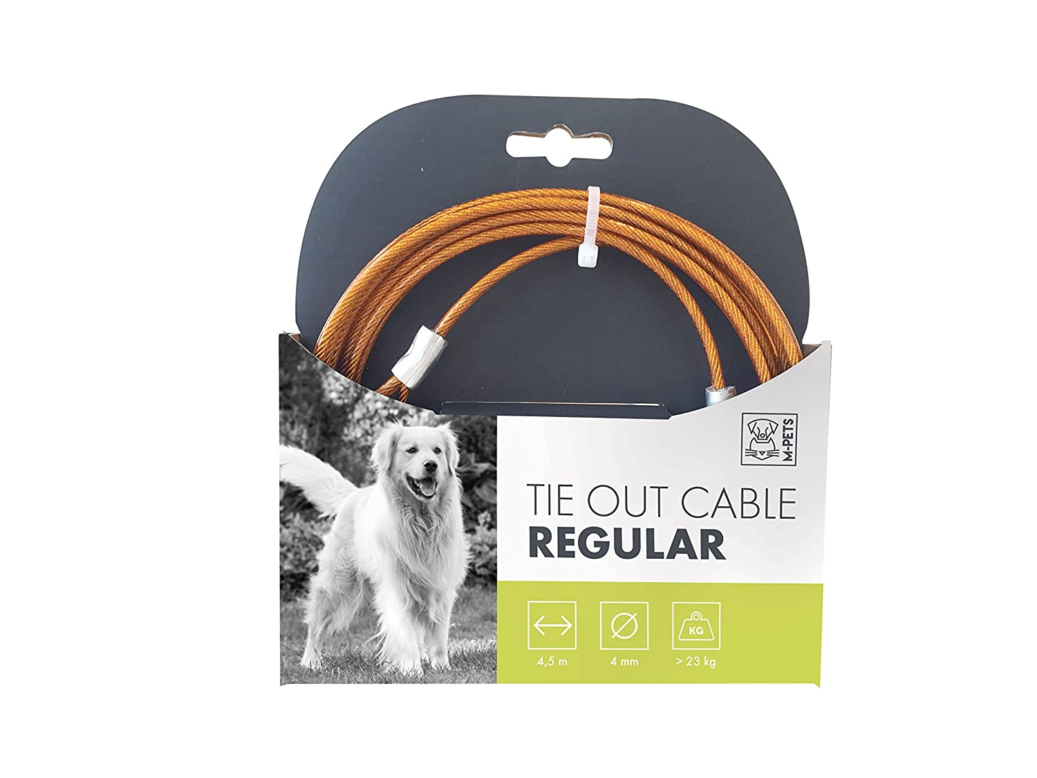 MPETS 10800599 Câble d'attache Regular pour Chien - Lot de 2