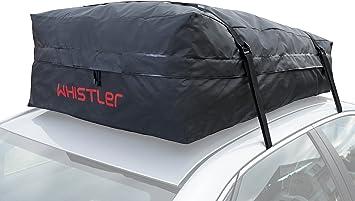 Whistler Car Roof Bag Bundle - 100% Waterproof of Top Cargo Bag