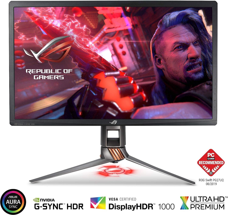 "Asus ROG Swift PG8UQ 8"" Gaming Monitor 8K UHD 188Hz DP HDMI G-SYNC HDR  Aura Sync with Eye Care"