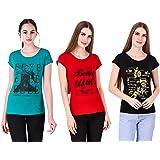 MODISH Lady's Printed Cotton T-Shirts
