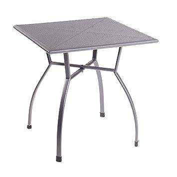 Amazon.de: Greemotion Tisch Toulouse 70 X 70 Cm Quadratisch ... Tisch Fur Balkon Outdoor Bereich