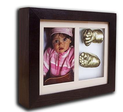 Un molde de escayola de impresiÓn del colour 3D colour: colour madera de wengué de