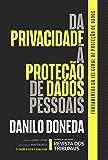 Da privacidade à proteção de dados pessoais: elementos da formação da Lei Geral de Proteção de Dados