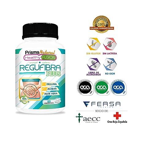 Potente Probiótico con Aloe Vera e Inulina [10 mil millones UFC] - Regula el tránsito intestinal y Mejora la ...