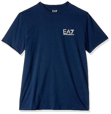 Emporio Armani EA7 T-Shirt Train Core ID Bleu Homme  Emporio Armani ... 17101e0920d