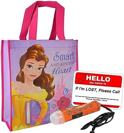 Princess Castle Bag Birthday Princess Bag Monogram Princess Costume Halloween Monogram Trick or Treat Bag Castle Princess Bag