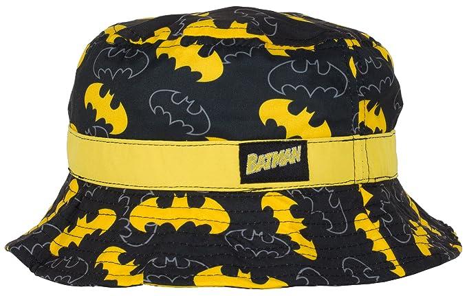 Amazon.com  DC Batman Bucket Hat for Boys d7f1cf2bbbb