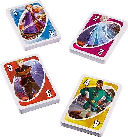 Mattel Games-UNO Frozen, Juego de Cartas (Mattel CJM70), Multicolor: Amazon.es: Juguetes y juegos