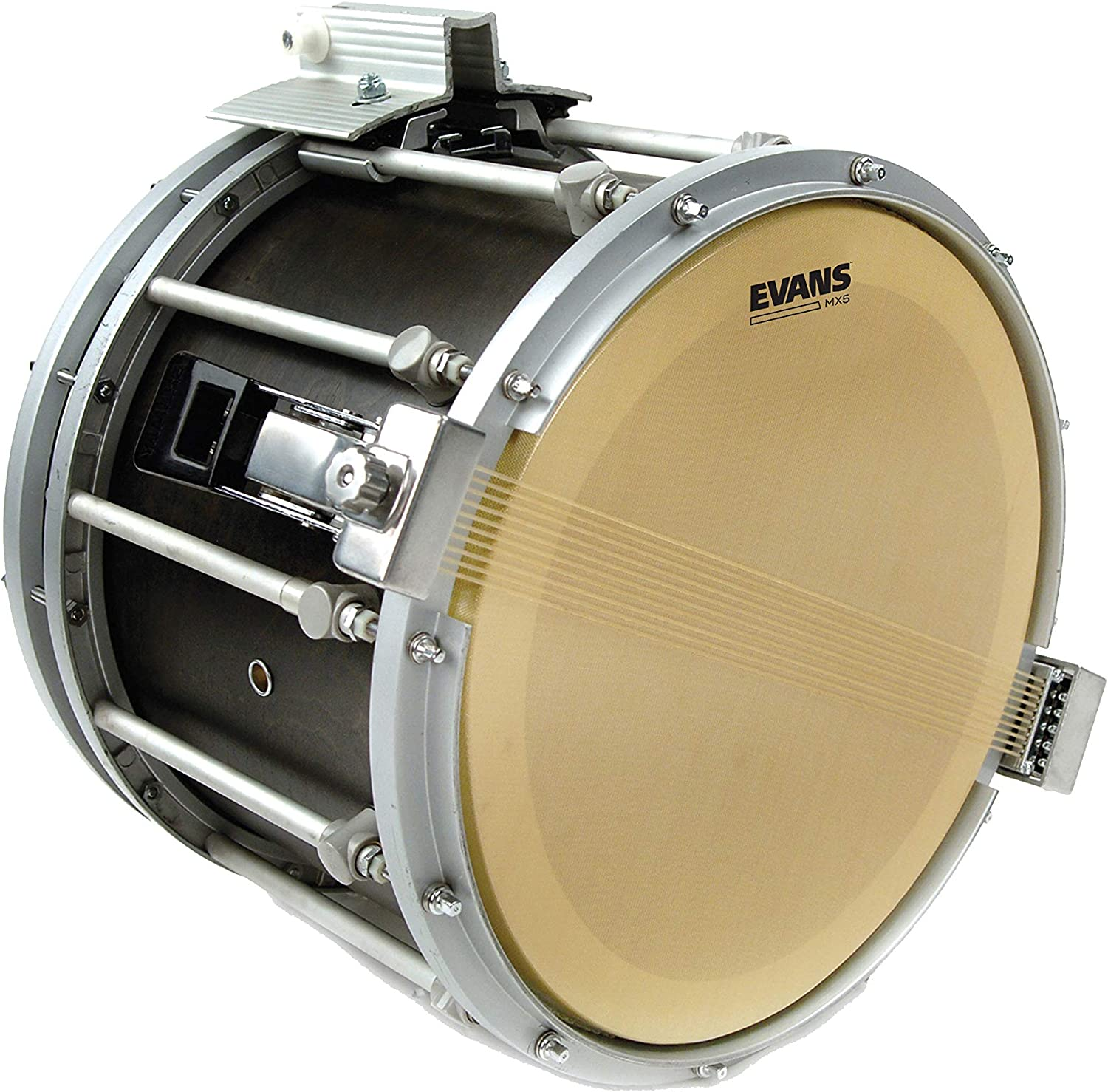 14 Inch Evans Hybrid White Marching Snare Drum Head