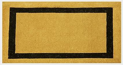 Envelor Home And Garden Handwoven, Extra Thick Doormat, Outdoor Rugs  Durable Coir, Outdoor