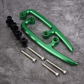 Barra de agarre trasera de aluminio CNC para motocicleta ...