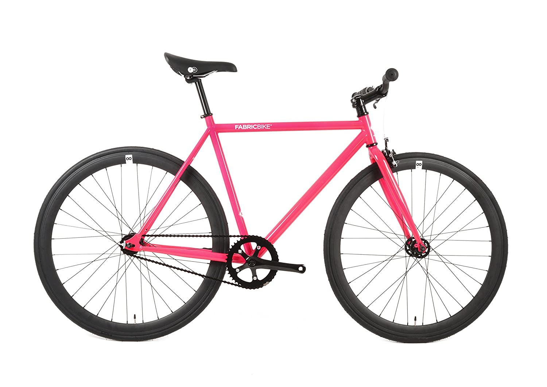 FabricBike-Fahrrad Fixie Fuchsie, Starre Nabe, Single Speed, Fixed ...
