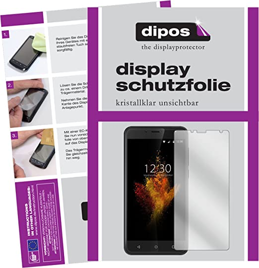 dipos I 2X Protector de Pantalla Compatible con Wieppo S6 pelicula ...