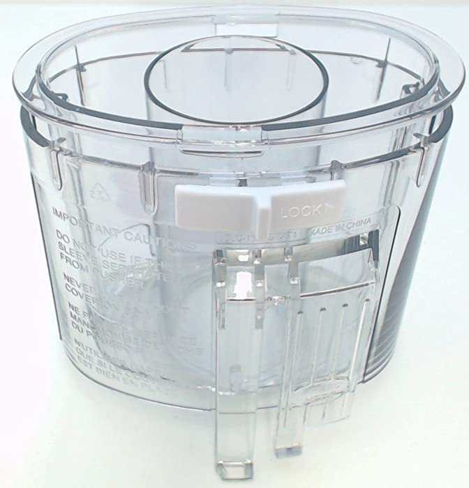 Cuisinart DLC-118BGTXT-1 Pusher & Sleeve Assembly, Large, Gray