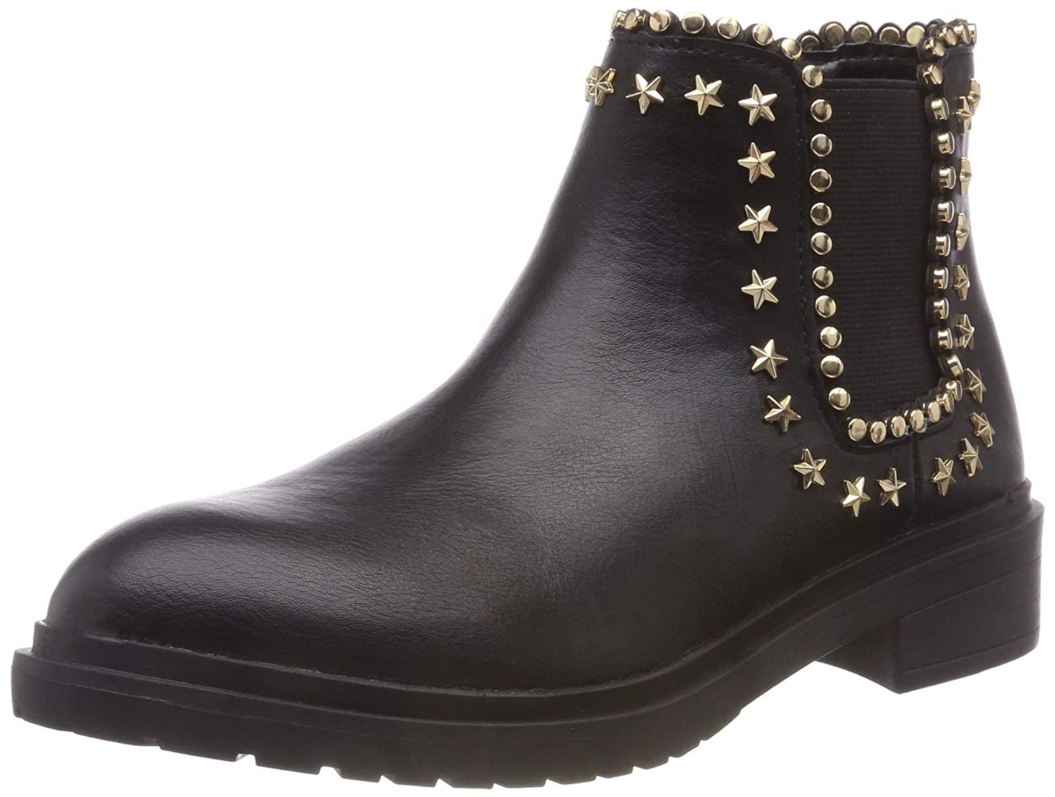 Buffalo Damen Amberlight Leather Pu Stiefeletten