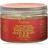 Shea Moisture Fruit Fusion Energizing Hand Body Scrub, 12 Ounce
