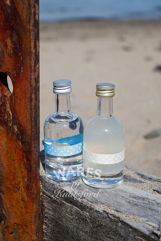 Wares of Knutsford 100 X Botellas de Vidrio (Nocturne, 50ml) con ...