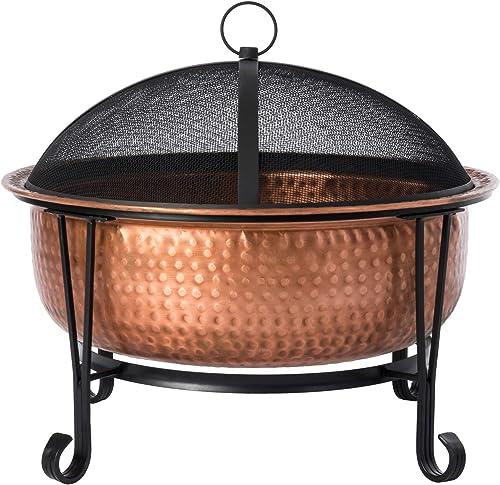 Fire Sense Palermo Copper Fire Pit
