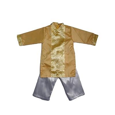 195 Designs Yellow Ao Dai Baby Boy - Ao Dai Gam