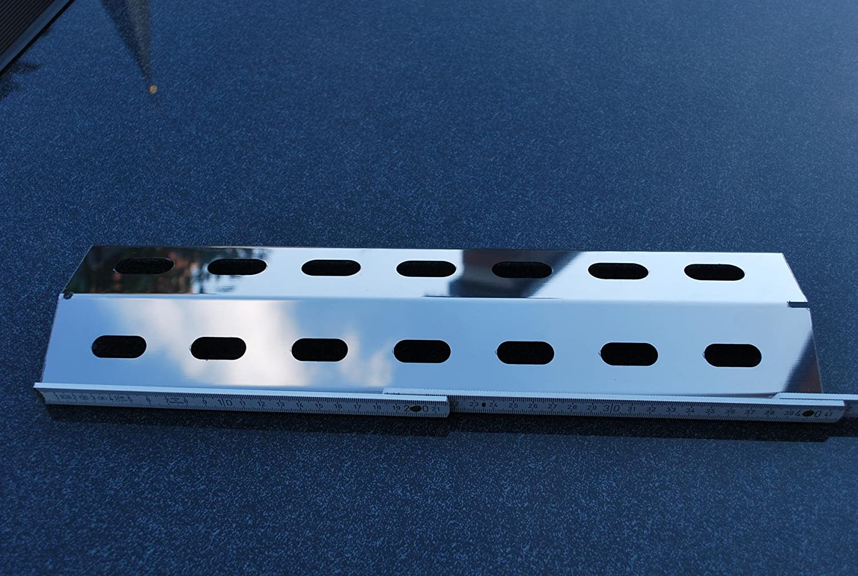 Landmann Gasgrill Flammenverteiler : Manufaktur stollenwerk 410mm x 115mm edelstahl flammenverteiler