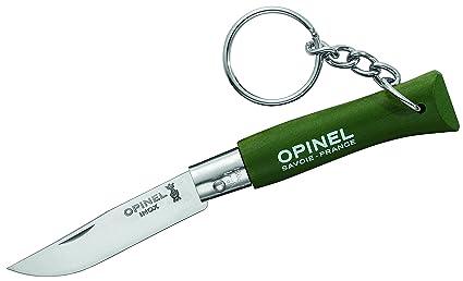 Amazon.com: Opinel N° 4 Survival Khaki Verde Militar Wald ...