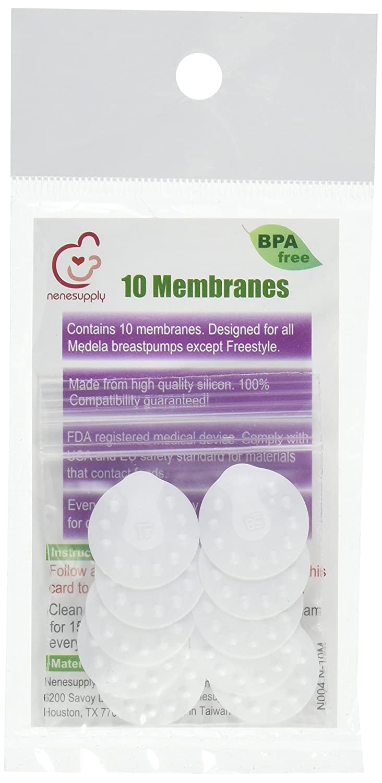 NeneSupply 10 Membranas Conde de Medela Breastpumps (Pump in ...