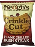 Keogh's Crinkle Flame Grilled Irish Steak, 50 g, black25188 (5391527730279)